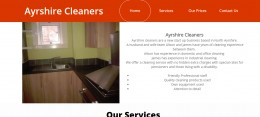 Ayrshire Cleaners Website