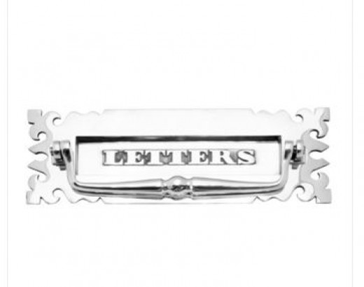 This Gothic letter plate is another design that can truly bring the whole period home look to life.