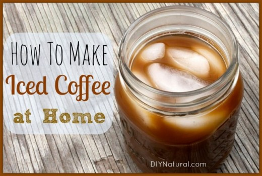 Here's a great iced coffee recipe to make at home