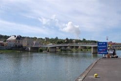 Road bridge over the Meuse