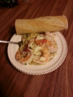 Shrimp Scampi! Delicious and Healthy!!!!