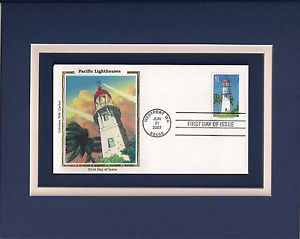 41 cent stamp of Hillsboro Inlet-Big Diamond Lighthouse, Lighthouse Point, Florida