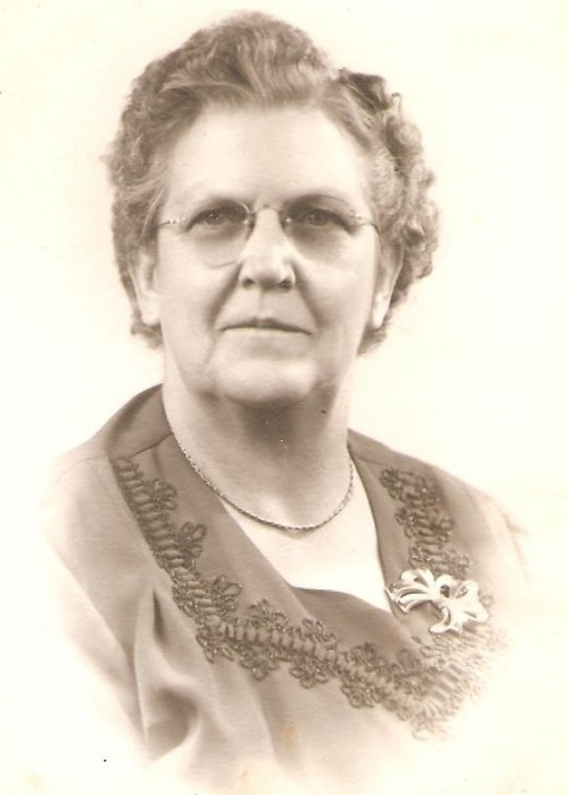 This is my paternal grandmother, Sadie Madison.