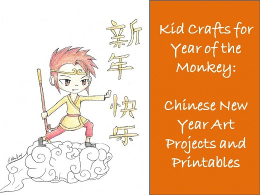 Kid Crafts for Year of the Monkey