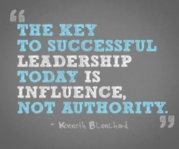 influence is the master key.