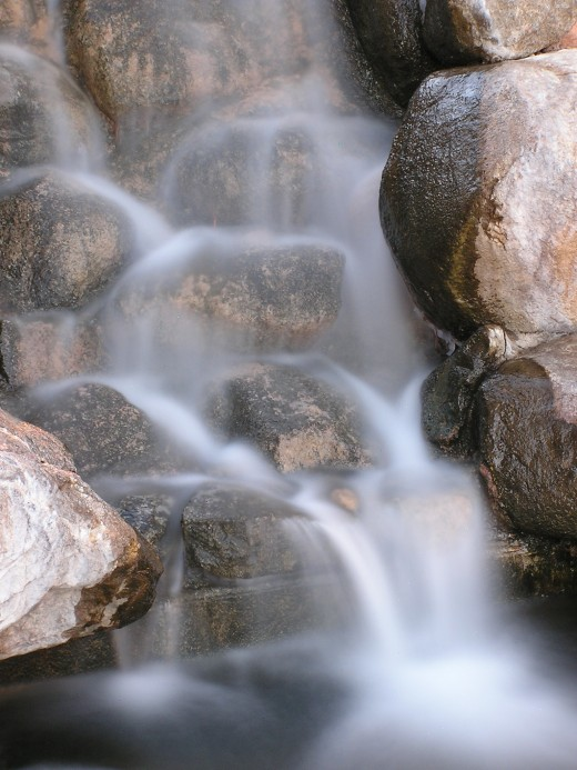 ...but the water I shall give him shall be in him a well of water springing up into everlasting life.     John 4:14