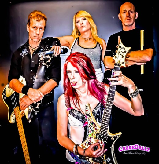 Sweet Marie Photography is the official photographer of the band CRASHDOLLZ.