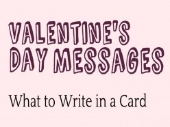 Valentine's Day Messages: What to Write in a Card