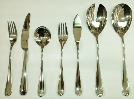 Are you confused by the flatware in front of you? If a formal table setting intimidates you and you don't know which utensil to use first, watch what your host does and follow his or her lead.