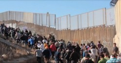 So there are a few raids now on illegal immigrants while increase pour through the border?