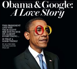 Does Google pander to Obama in subtle (& not so subtle) ways when they can? For example, do a Google