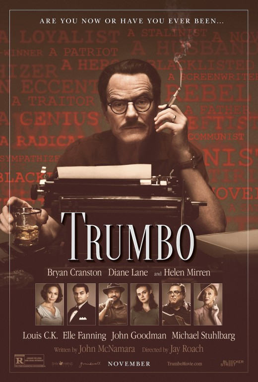 Bryan Cranston stars as Hollywood screenwriter, Dalton Trumbo