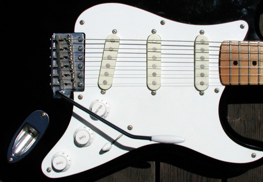 Single coils in a Fender Stratocaster