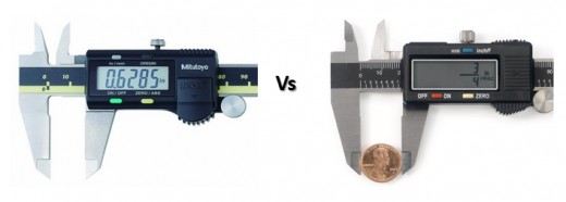 Mitutoyo 500-196-30 vs Neiko 01407A digital calipers