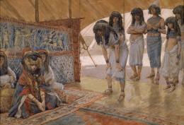 Sarai taken to Pharaoh