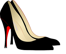 Stiletto-heel shoes