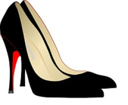 Stiletto-heel shoes