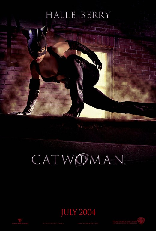 "Promotional poster for ""Catwoman"""