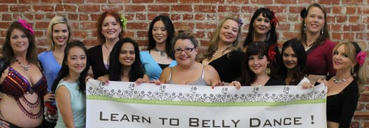 Learn to belly dance with a fun and inspiring teacher