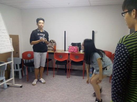 Drama session during English Language Class