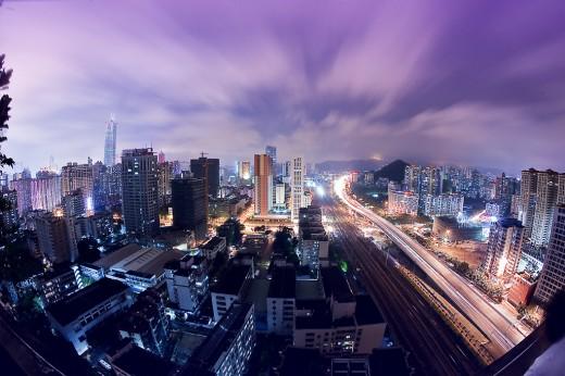 Guangzhou night by wallace_Lan