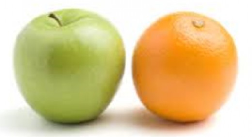 Comparing apple to orange? Not really...
