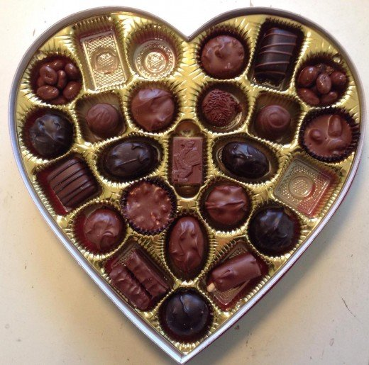 Box of Valentine Chocolate