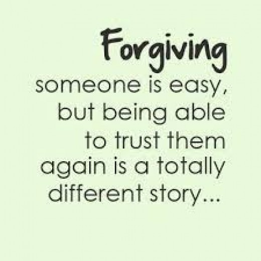 Forgiving is easier than Forgetting!