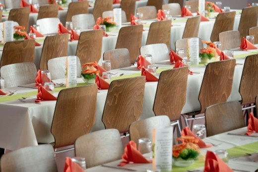 Seating for wedding reception