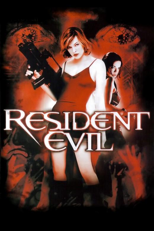 """Promotional poster for """"Resident Evil"""""""