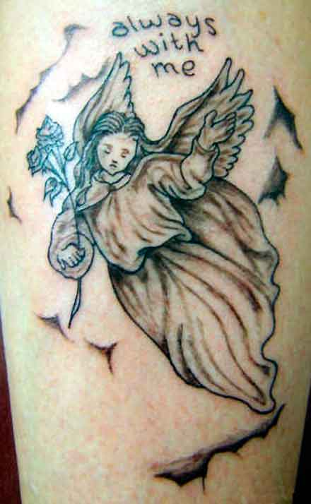 Angel Tattoo Meanings And Designs Tatring
