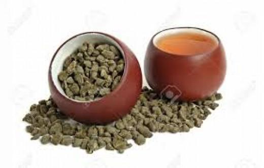 Ginseng tea preparation