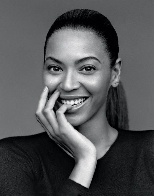 Beyoncé's natural beauty