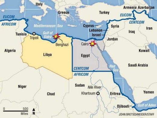 The Middle East and all there great places to live.