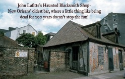 New Orleans Haunted History- Jean Lafitte's Blacksmith Shop