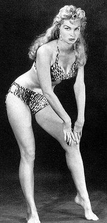 """Irish McCall, """"Sheena, Queen of the Jungle.""""  1950's show filmed in Las Estacas.  Irish died in 2002."""