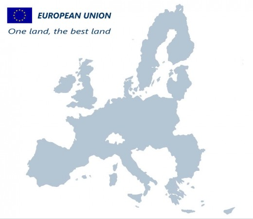 Land Area Of The Europeam Union:  Islamic State Training Here According To Europol.