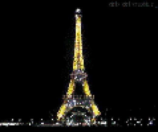 Famous Image Of Paris Where 130 People Lost Their Lives in Islamic State Attack.