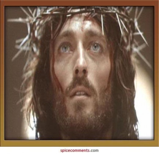 Actor Robert Powell In The Series 'Jesus Of Nazereth'.