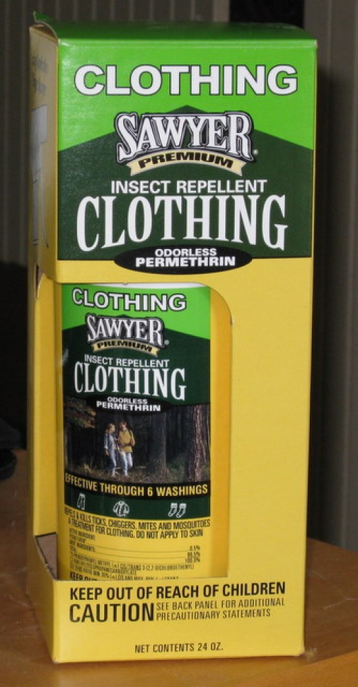 Insect repellent clothing