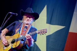 Willie Nelson and his Martin guitar, Trigger.