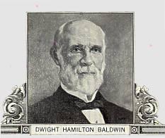 Tall and balding, Richard Baldwin resembled his ancestor, Dwight Hamilton Baldwin