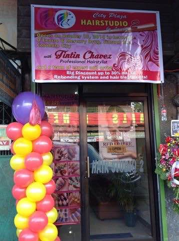 This is the Entrace of the Salon and Spa