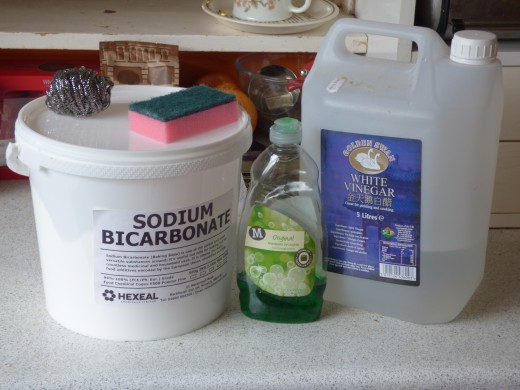 Simple ingredients to clean your oven overnight without corrosive chemicals or much elbow grease.