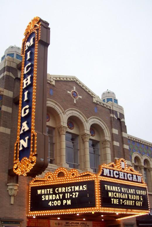 Michigan Theater, Ann Arbor, Michigan