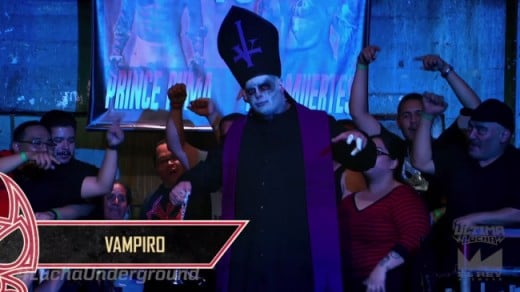 Evil Pope Vampiro   Other Vampiro (though all Vampiro's are cool)