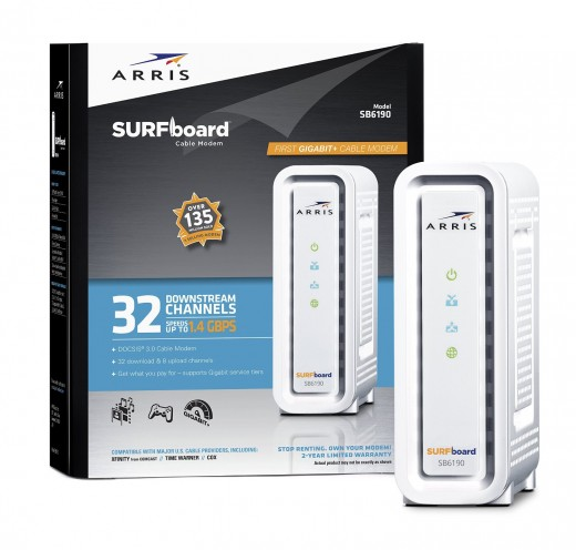 Get a superfast cable modem
