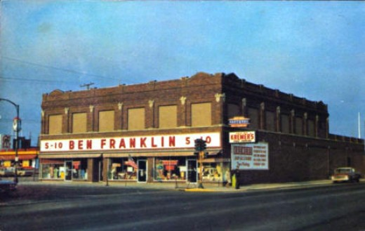 Kremer's Ben Franklin 5 & Dime Store.  1960. They had a fountain with the best Barbeque sandiwches in the world.