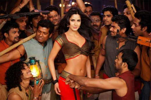 "Katrina Kaif in the item song ""Chikni Chameli"""
