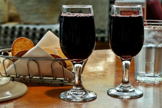 Red wine and other alcoholic drinks can trigger a Rosacea flare up